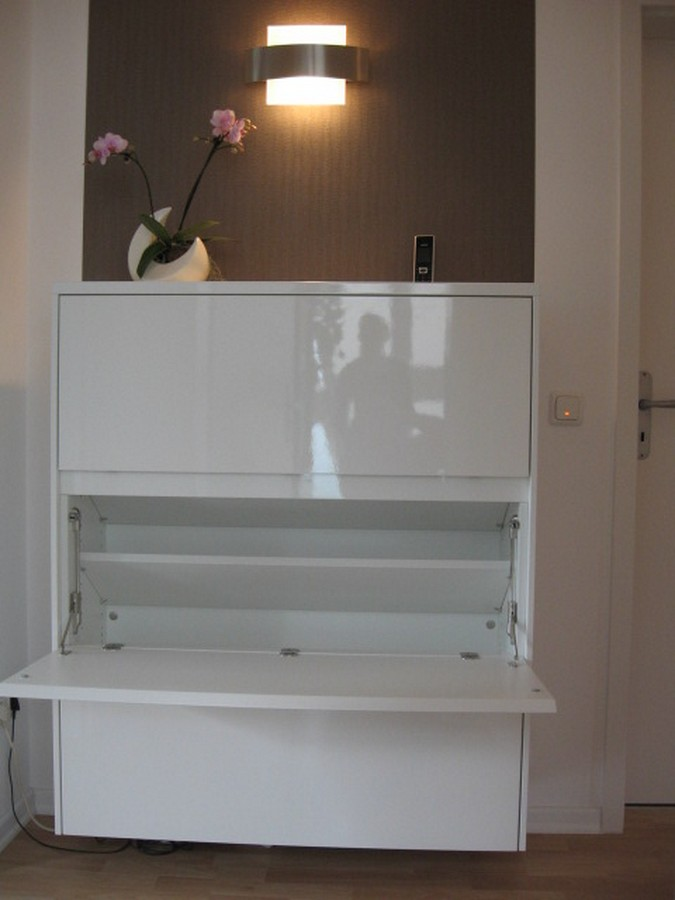 Ikea Drawers As Change Table ~ Wohnwand Messina Weiss Hochglanz Regale Wohnzimmerschrank Pictures to